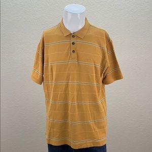 Mens Patagonia Orange Short Sleeve Polo Shirt XL